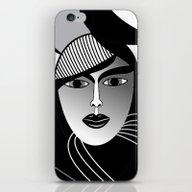 Oriental Women iPhone & iPod Skin