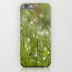 Fresh green meadow iPhone 6 Slim Case