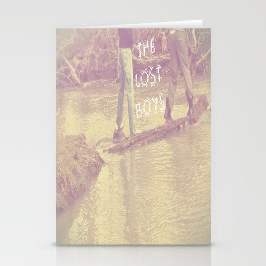 the LOST BOYS Stationery Card