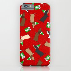 Merry Dachshunds iPhone 6s Slim Case