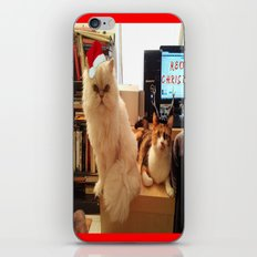 LES CATASTROPHES XMAS EDITION iPhone & iPod Skin
