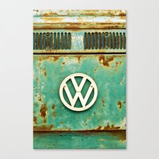 VW Retro Canvas Print