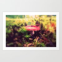 To Be Small, You Must Be… Art Print