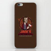 Jack's Caretaker Services iPhone & iPod Skin