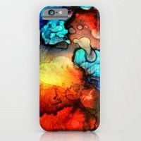 iPhone & iPod Case featuring Drops by S.G. DeCarlo