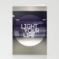 Light Your Life Stationery Cards