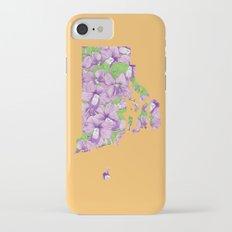 Rhode Island in Flowers Slim Case iPhone 7