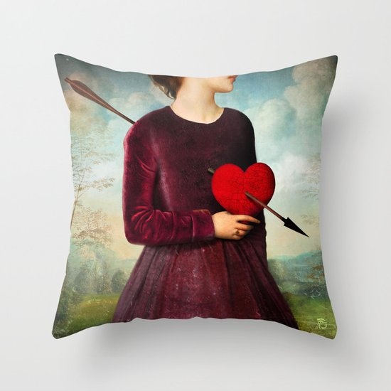 The Heartache Throw Pillow
