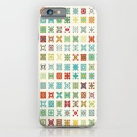 iPhone & iPod Case featuring Fairisle 1 Bone by David Andrew Sussman