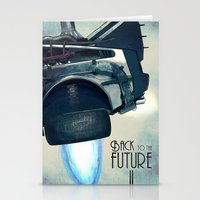 Back to the future II Stationery Cards