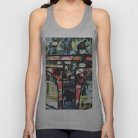 Boba Fett Collage Unisex Tank Top