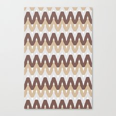 Summer Pattern 9 (S'Mores) Canvas Print