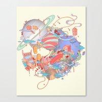 Cosmic Koinonia. Canvas Print