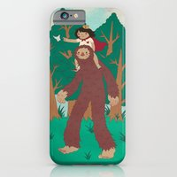 iPhone & iPod Case featuring The Bigfoot Adventure by Najmah Salam