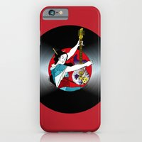 iPhone & iPod Case featuring Geisha: Mistress of Rock by JoPruDuction Art