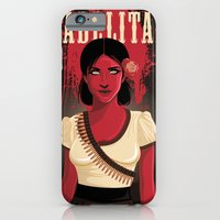 iPhone Cases featuring Adelita by Anne Cobai