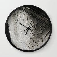 Wisdom In Stone. Wall Clock