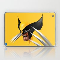 BLACK AND YELLOW Laptop & iPad Skin