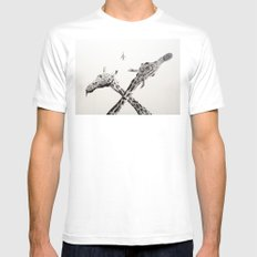 MiG 22 Flogger-B  SMALL White Mens Fitted Tee