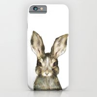 iPhone & iPod Case featuring Little Rabbit by Amy Hamilton