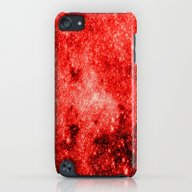 Red Galaxy iPod touch Slim Case