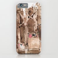 iPhone Cases featuring Wood Bears  by main