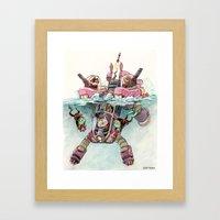The Submarine Squad Framed Art Print