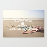 Salt Water Cure Canvas Print