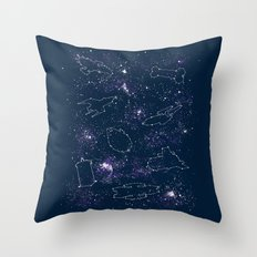 Star Ships Throw Pillow