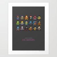 Mega MotU: Evil Warriors Art Print