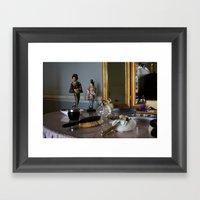 Dressing Table Framed Art Print