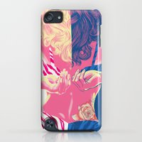 iPod Touch Cases featuring Undressing Rose by Jay Haldon