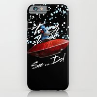 iPhone & iPod Case featuring Kal the Monkey - See...Do! by Halucinated Design