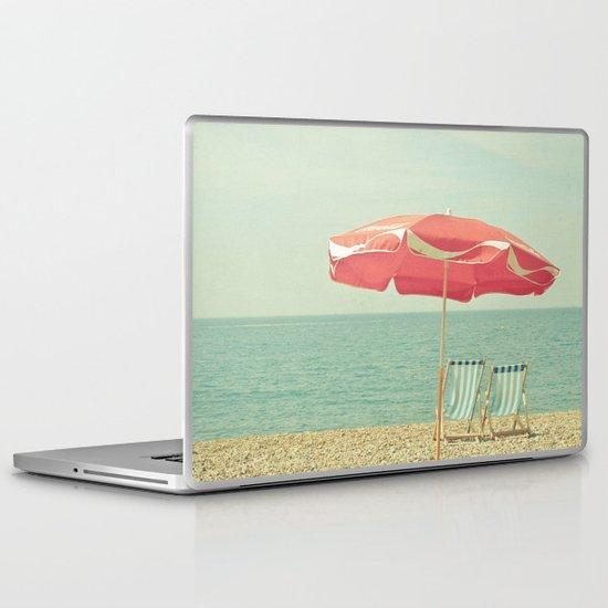Deserted Beach Laptop & iPad Skin