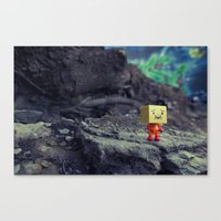 I Like It Here Canvas Print