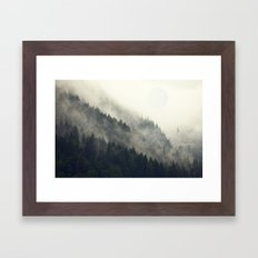 Forest Moon Framed Art Print