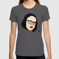 Ghost world Womens Fitted Tee Asphalt SMALL