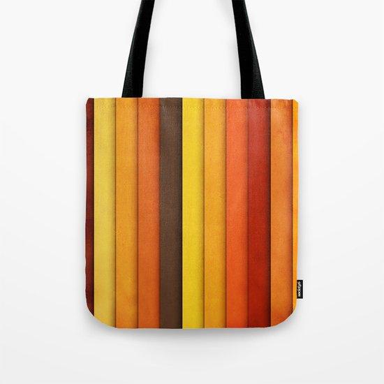 Vertical Grunge Tote Bag