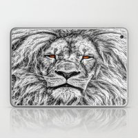 Black Lion Laptop & iPad Skin