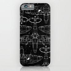 Spitfire Mk. XIV (white) Slim Case iPhone 6s