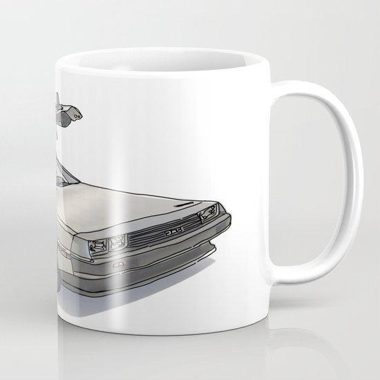 Stormtroooper in a DeLorean - star wars Mug