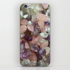Amethyst, Rose quartz,  chrystal iPhone & iPod Skin