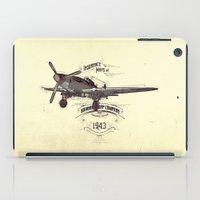 1943 caza iPad Case