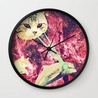 Galactic Cats Saga 2 Wall Clock
