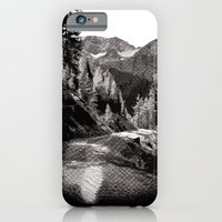 The road through the forrest below the mountains iPhone 6 Slim Case