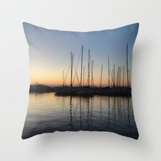 Piraceus - Greece Throw Pillow