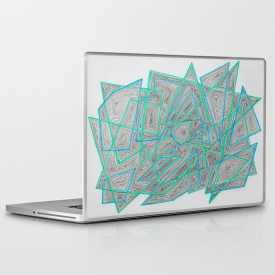 Criss-Cross Laptop & iPad Skin