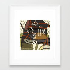 Still Life With Oranges … Framed Art Print