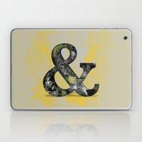 Ampersand Series - Baske… Laptop & iPad Skin
