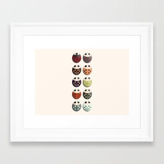 Ladies and... Framed Art Print